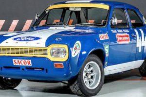 Ford Escort do Team Palma vai a leilão em Goodwood