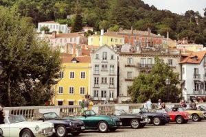 Clube MG V8 Suíço visitou Portugal