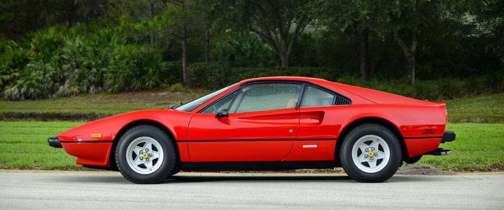 Ferrari 308 GTB, um sonho dos anos 70