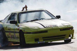 Drift Show com slide e velocidade no Caramulo Motorfestival