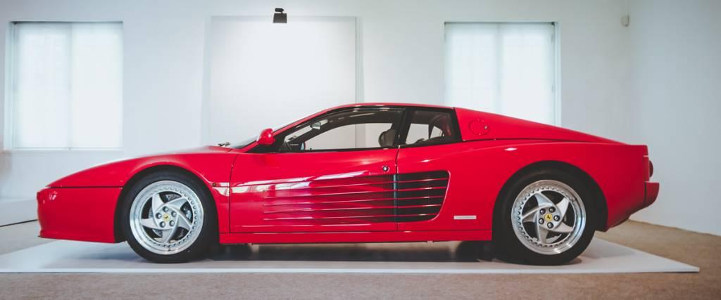 Ferrari F512 M, a continuação do Testarossa
