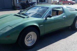 Maserati Merak 3000 que pertenceu a Dodi Al-Fayed vai a leilão