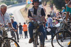 Concentração e desfile de bicicletas antigas no Caramulo Motorfestival