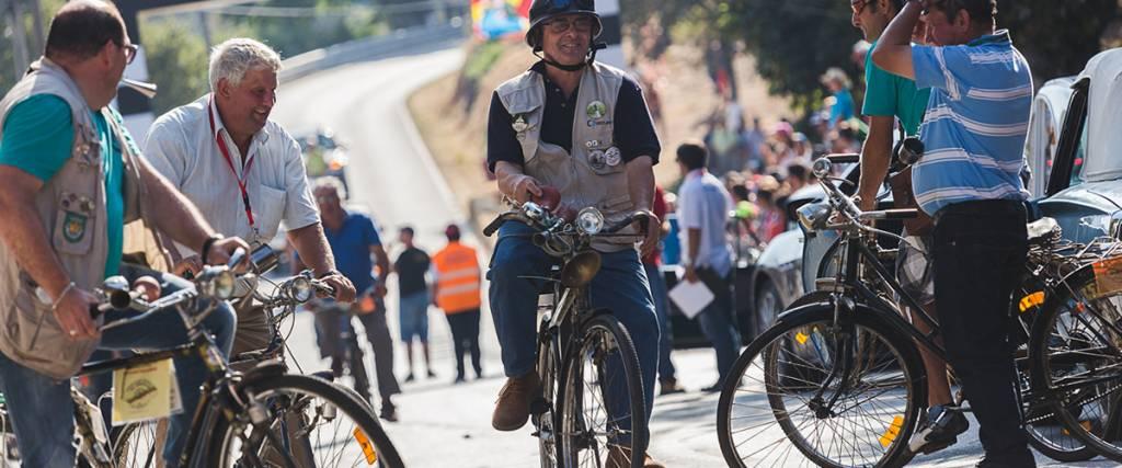 Desfile de bicicletas antigas regressa ao Caramulo Motorfestival