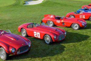 70 anos da Ferrari celebrados em Pebble Beach