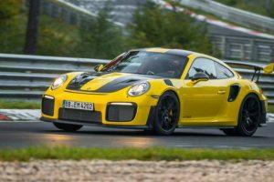 O GT2 RS é o Porsche 911 mais rápido de sempre com 6m47,3s