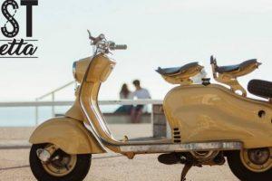 A Lambretta de 1957 que esteve perdida mas que (felizmente) foi encontrada