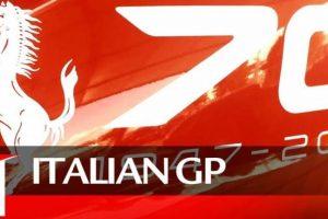 Italian Grand Prix: Tributo aos 70 anos da Ferrari