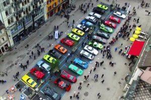 1ª edição do Concurso de Elegância da Lamborghini