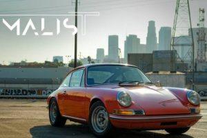 O prazer minimalista com o Porsche 911 T de 1969