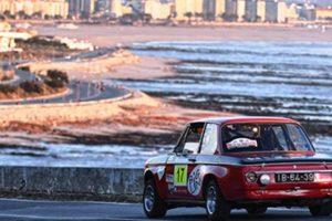 Paulo Marques na frente do Rally de Portugal Histórico