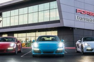 Porsche Experience Center em Los Angeles