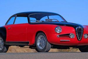 O extraordinário Alfa Romeo 1900cSS Touring Berlinetta de 1955