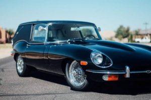 """Jaguar E-Type do filme """"Harold and Maude"""", um automóvel lindo de morrer"""