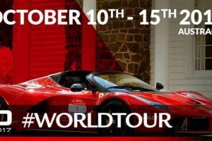 Celebrações dos 70 anos da Ferrari na Austrália