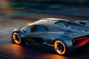 Terzo Millennio, o futuro da Lamborghini