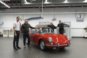 O Museu Porsche apresenta pela primeira vez o mais antigo 911