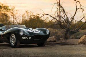 Jaguar D-Type de 1954 é a grande estrela do leilão da RM Sotheby's