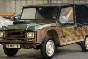 Citroën está a vender vários modelos históricos e protótipos