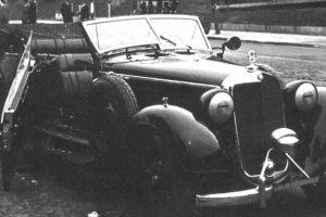 Mercedes-Benz de Reinhard Heydrich encontrado, restaurado e leiloado