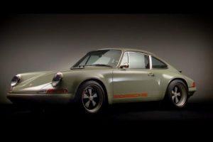 911 Modified by Singer: o tributo da Porsche
