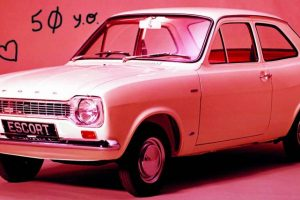50 anos do Ford Escort em 50 fotos