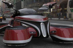Designer cria impressionante automóvel voador