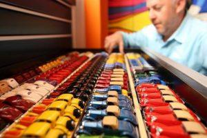 A colecção de Hot Wheels que vale 1 milhão de dólares