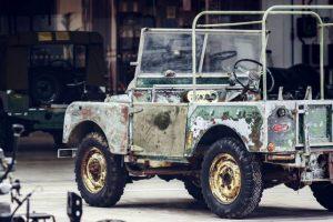 Descoberto primeiro Land Rover que estava desaparecido há 30 anos