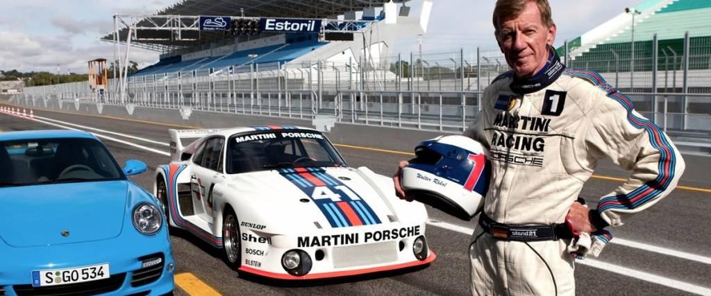Campeão do Mundo de Ralis Walter Röhrl está com a Porsche há 25 anos