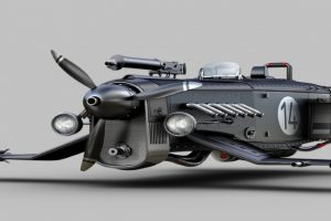 Os veículos de Jomar Machado, um sábio no campo do 3D