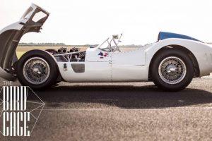 Uma alucinante aventura com o Maserati Tipo 61