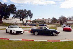 Clube Mazda MX-5 foi ao kartódromo de Palmela