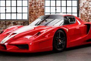Ferrari FXX vendido por valor recorde em França