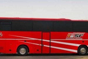 Autocarro oficial da equipa de F1 da Scuderia Ferrari já tem novo dono