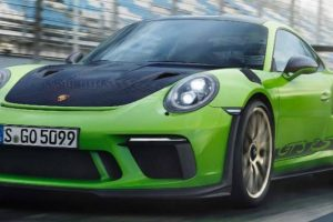 Novo Porsche 911 GT3 RS focado no desporto automóvel