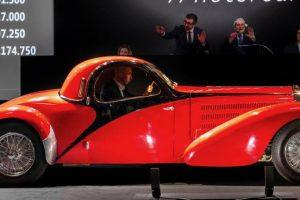 Leilão da Articurial domina Rétromobile com vendas de 32 milhões de euros