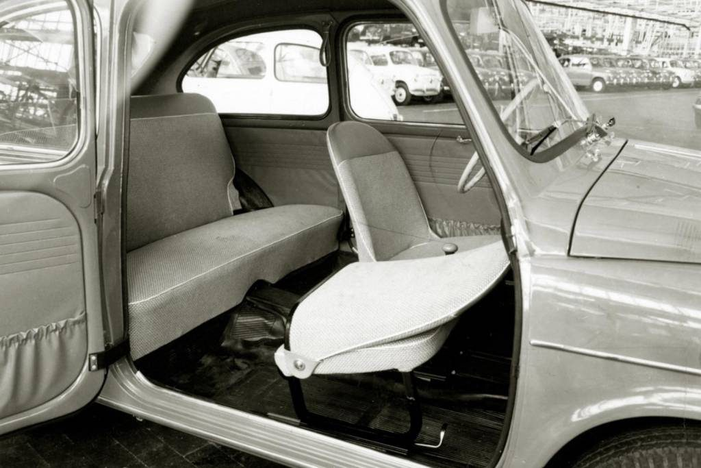 "O Seat 600 só abandonou as portas ""suicida"" em 1970"