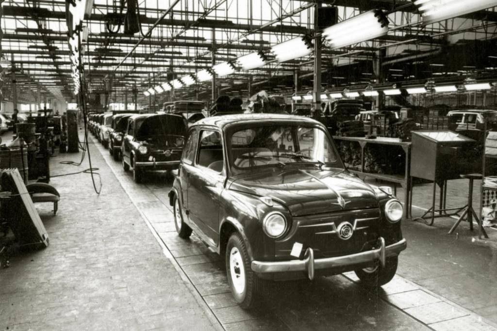 O Seat 600 foi produzido de 1957 a 1973
