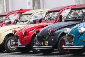 Núcleo 2CV de Lisboa celebra o Drive-it Day com viagem no tempo