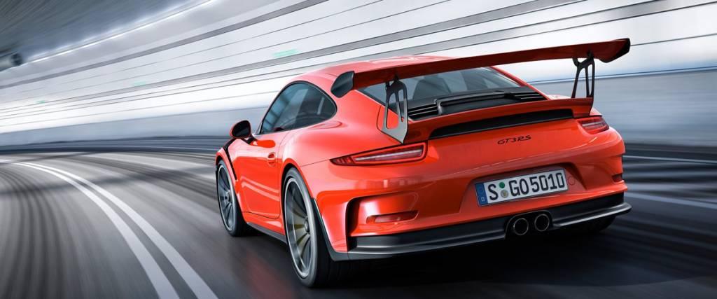 Novo Porsche GT3 RS faz a sua estreia mundial