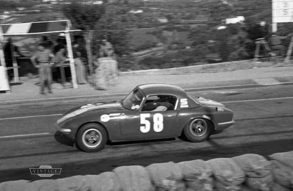 Em 1966, John Miles venceu duas corridas em Vila Real, com o Lotus Elan e com o Ford Cortina Lotus