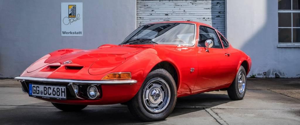 Opel GT faz 50 anos