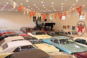 A extraordinária colecção de automóveis de Jimmy Shiels