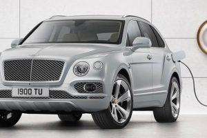 Bentley apresenta o seu primeiro híbrido plug-in
