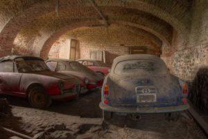 Alfa Romeos encontrados em castelo abandonado