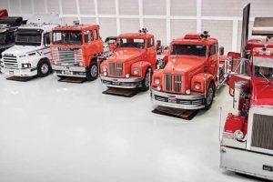 Fascínio por camiões gera colecção de mais de 50 exemplares