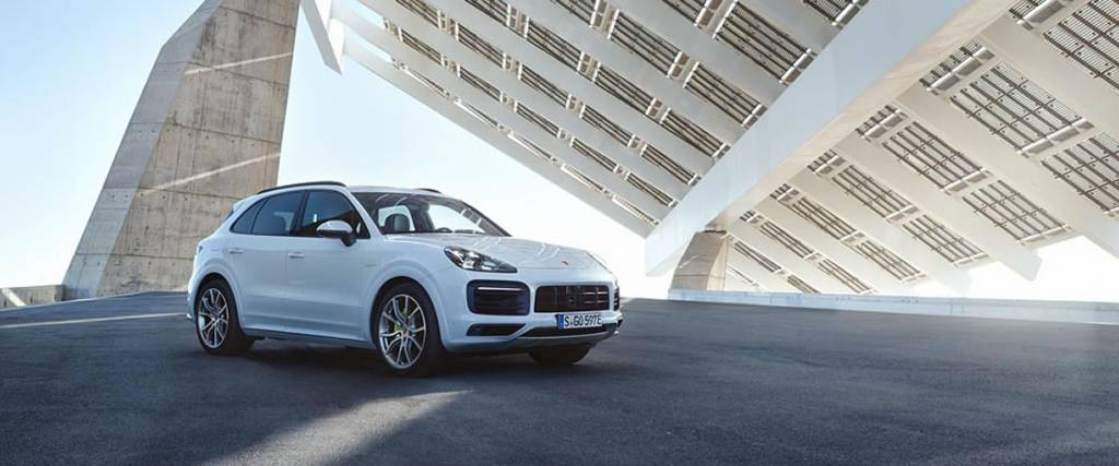 Porsche apresenta Cayenne E-Hybrid