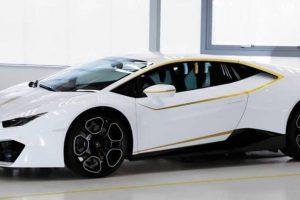 Lamborghini Huracan que era do Papa Francisco pode agora ser alugado