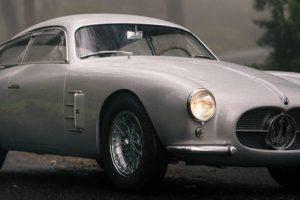 Maserati A6G/2000 Zagato de 1956 vai a leilão por 5 milhões de dólares